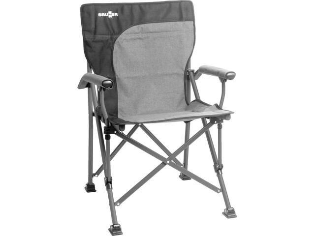 Brunner Raptor Vouwstoel.Brunner Raptor Demtex Chair Grey Black